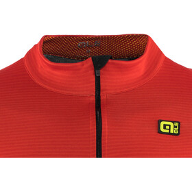 Alé Cycling Graphics PRR Thermo Road LS Jersey Men, red-fluo yellow